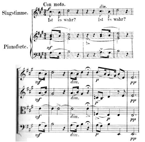 Mendelssohn Opus 13 'Ist Es Wahr'