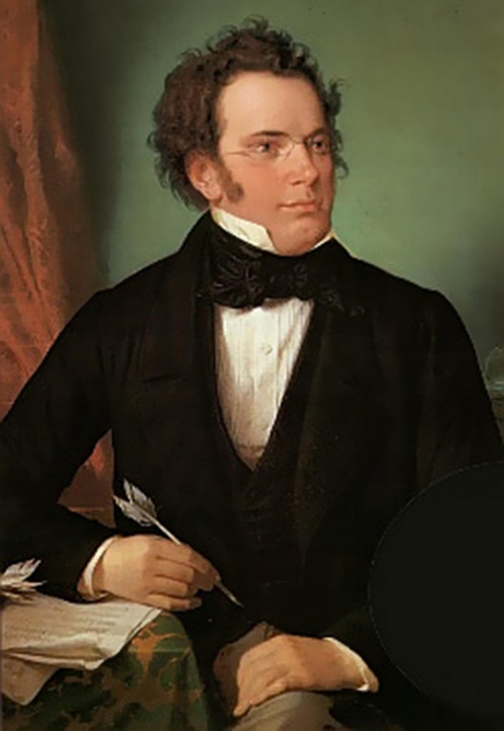 Franz Schubert in 1825 (painting by Wilhelm August Rieder)